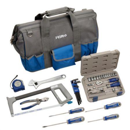 Bolsa con 53 herramientas de mantenimiento general